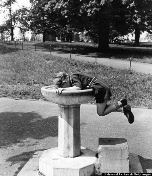 13 Oddly Dramatic Moments In The History Of The Water Fountain