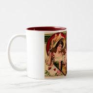 Victorian Valentines Couple Coffee Mug