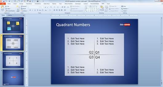Reem hadied google free quadrants powerpoint template free powerpoint templates slidehunter toneelgroepblik Images