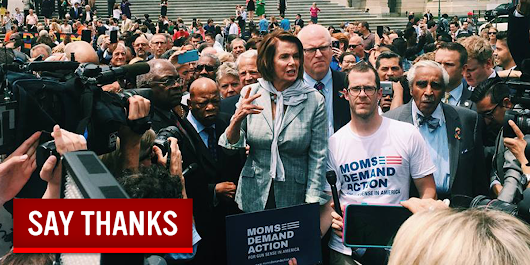 Thank Members of Congress Who Stood Up for Gun Sense
