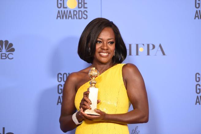 Tras cinco nominaciones, por fin llegó el Globo de Oro para Viola Davis