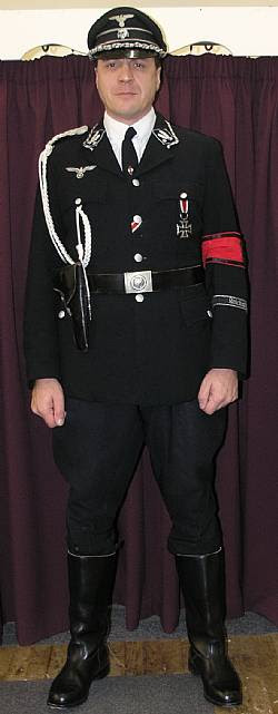Gestapo Officer Costume Hire from Vintage Years