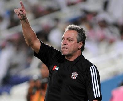Abel Braga, novo técnico do Al Jazira (Foto: Divulgação / Al Jazira)