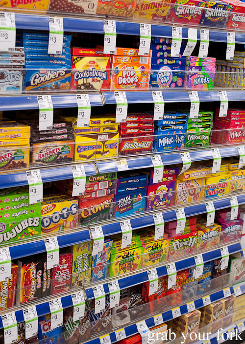 american candy aisle in los angeles