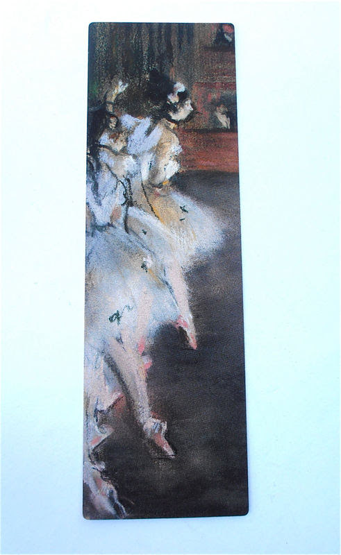 Vintage Ballet Dancers Bookmark Vintage Art Print Bookmark Degas Bookmark Impressionist Artwork Fine Art Quality Artworks Bookmark Artprint