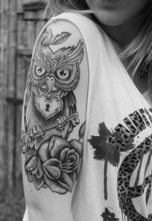 Sleeve Owl Tattoo Design Design Of Tattoosdesign Of Tattoos