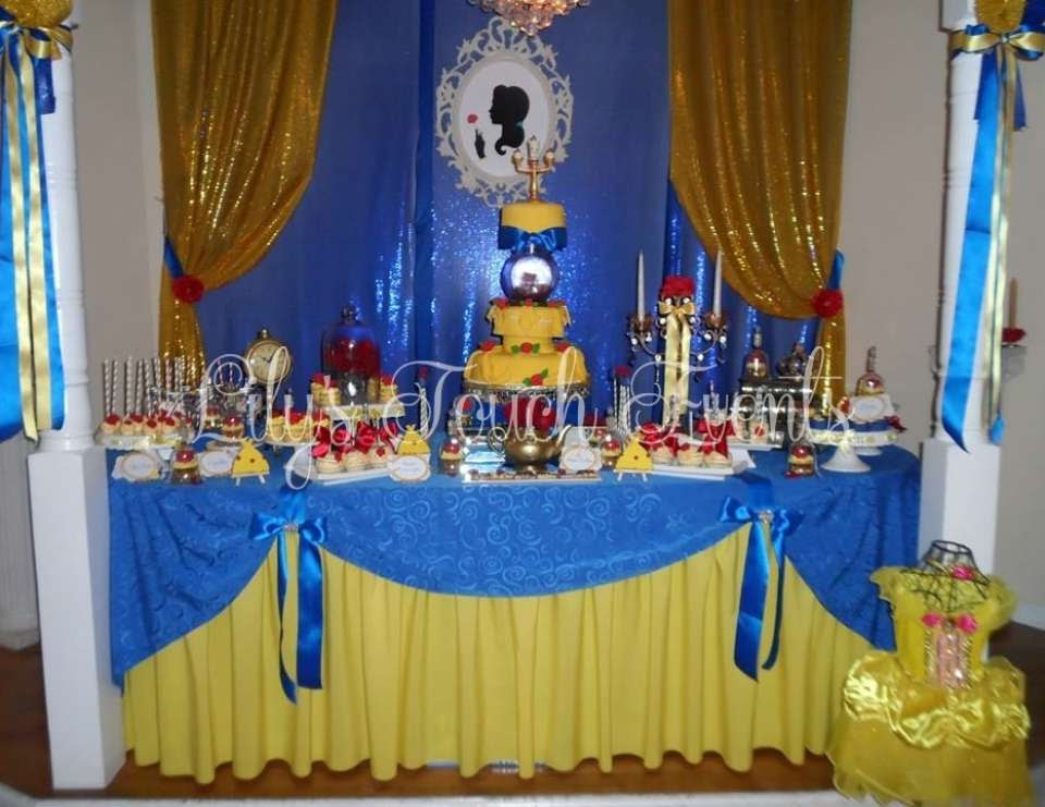Beauty and The Beast Quinceanera - Beauty and the Beast