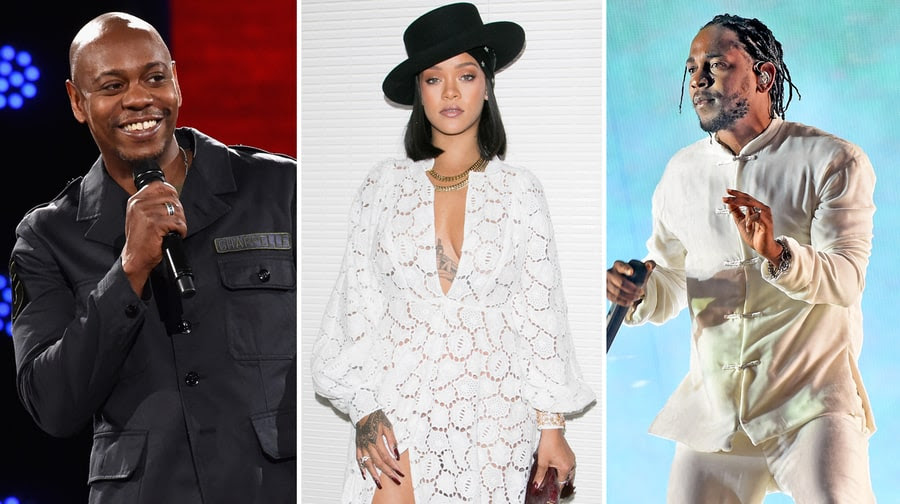 Rihanna Taps Dave Chappelle, Kendrick Lamar for Third Diamond Ball