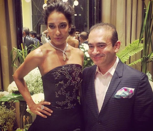 Diamond Jewellery Designer Nirav Modi : The Man Behind the Biggest Banking Fraud - BUZZARENAS