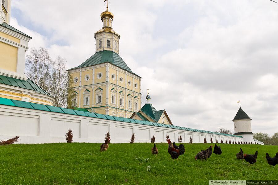 Ограда Макаровского монстыря