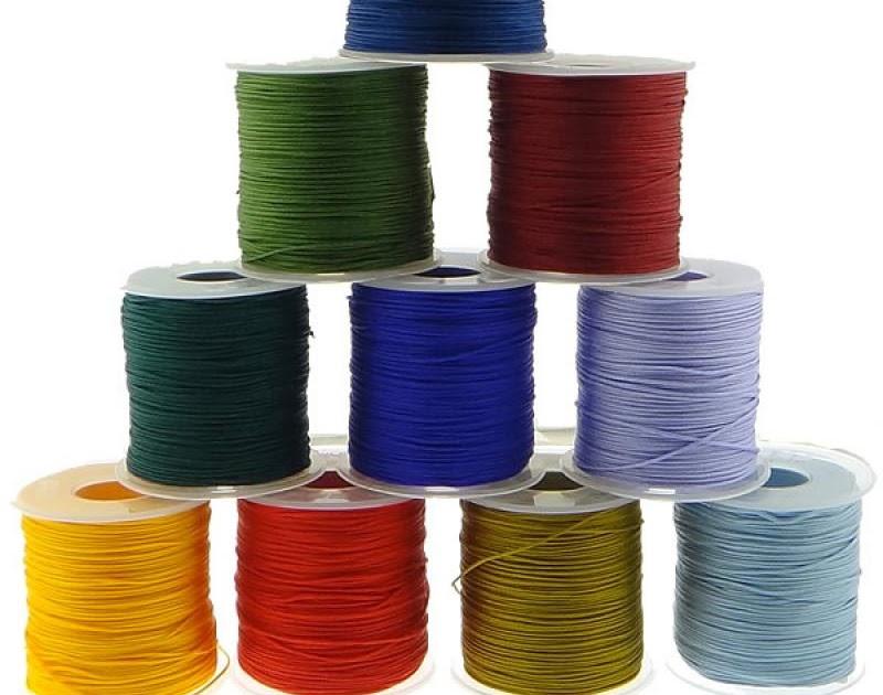 30m long  black nylon thread//cord1mm for Shamballa Beads or jewel making