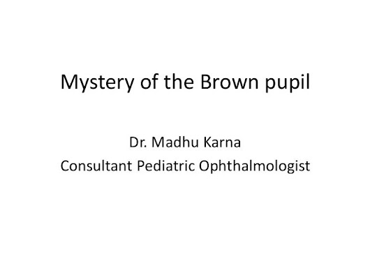 Dr. Madhu Karna Consultant Pediatric Ophthalmologist