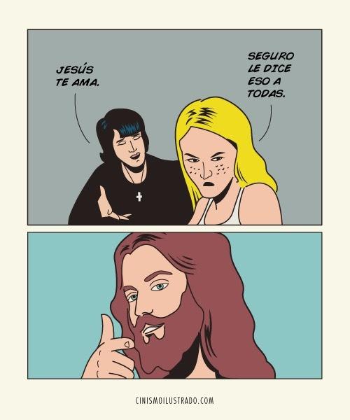 Jesús te ama.