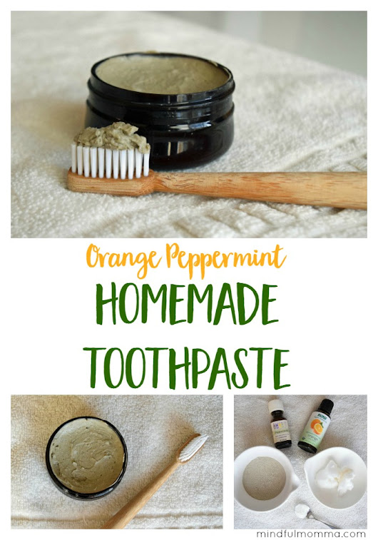 Homemade Toothpaste Made with 5 Natural Ingredients