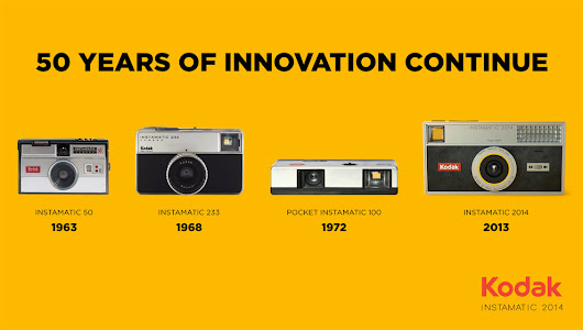 Kodak Instamatic 2014 | 50 years of Innovation continue