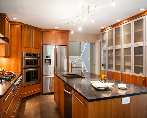 Flat Face Cabinets Home Design Ideas, Pictures, Remodel ...