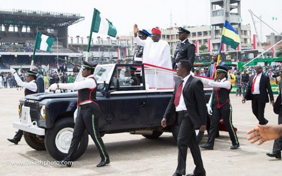 Photos From Akinwunmi Ambode's Swearing In As Lagos Governor