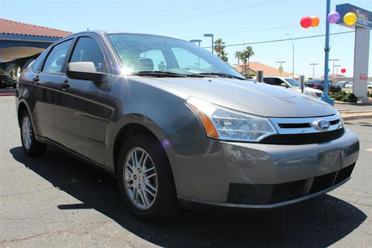 Used 2010 Ford Focus SE Sedan for Sale in Phoenix AZ 85022 A to Z Auto Mall