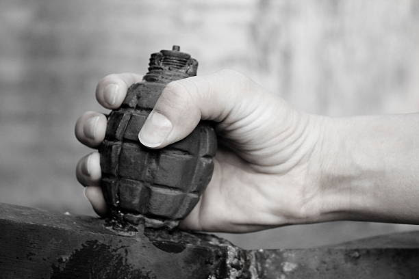 Image result for hand grenade in stock photo