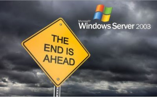 End of Support for Microsoft Windows Server 2003