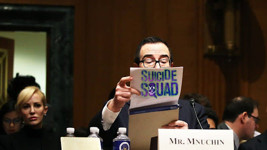 Genius Behind Suicide Squad Now Fifth in Line For the Presidency