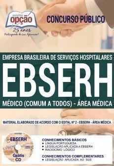 Apostila Concurso EBSERH Nacional 2018 (Médica) | MÉDICO (COMUM A TODOS)