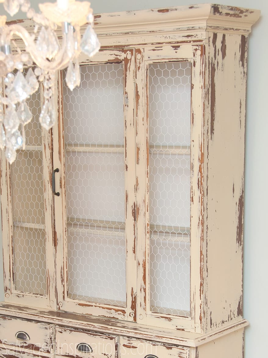 Past Meets Present Trend: Replace Glass with Chicken Wire The Safe ...