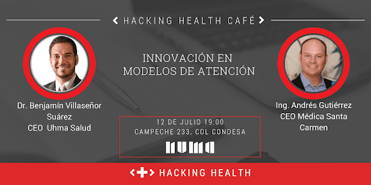HACKING HEALTH CAFE - NUMA