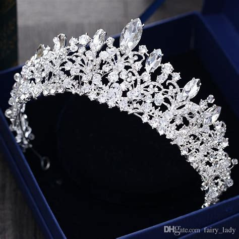 Gorgeous Princess 2018 Big Wedding Crowns Bridal Jewel