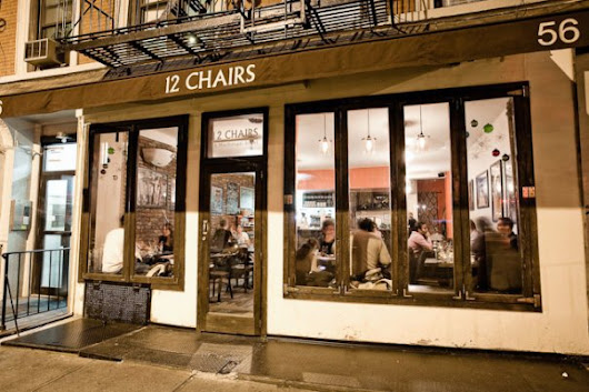 12 Chairs Cafe. An Authentic Israeli Spot In The West Village