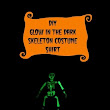 DIY Glow in the Dark Skeleton Halloween Shirt | This Mama Loves