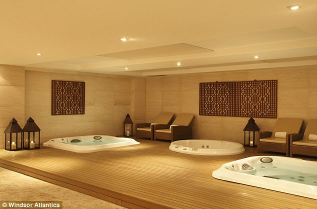Facilities: The hotel boasts a relaxing spa