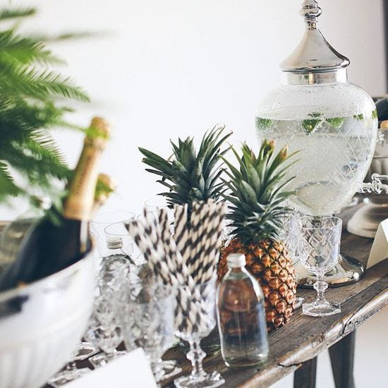 stylish bar #pineapple
