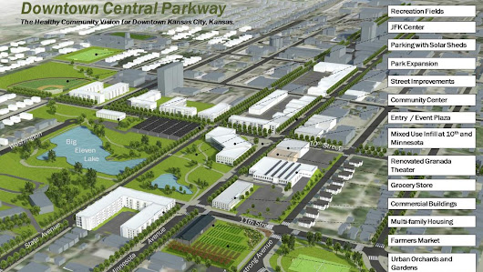 'Healthy campus' is at heart of new downtown KCK master plan - Kansas City Business Journal