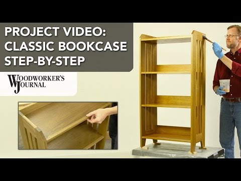 How to make a classic bookcase - A Woodworkers Journal project