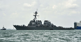 10 Sailors Missing After U.S. Navy Destroyer Hits Oil Tanker