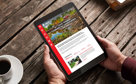 Custom WordPress Website Design for St. Louis Commercial Landscaping Company