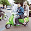 Introducing Hopper Green Taxi Scooter - Amsterdo - Your Guide to Amsterdam