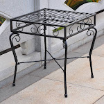 International Caravan Tropico Iron Side Table