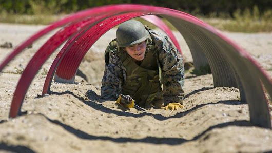 West Fork teacher trains like a Marine in San Diego