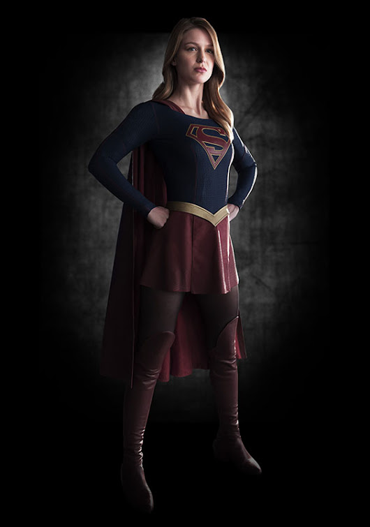 Supergirl Costume Revealed | SweetPaul Entertainment