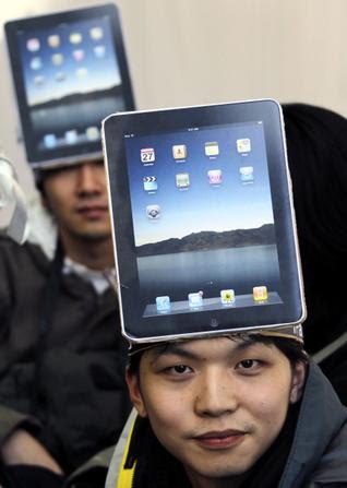 Novidades tecnológicas na cabeça