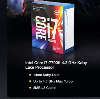 Intel Core i7-7700K 4.2 GHz Kaby Lake Processor