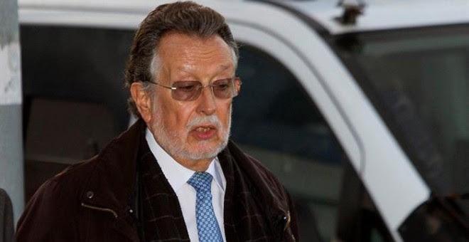 El exvicealcalde de Valencia Alfonso Grau, detenido ayer en Valencia por supuesto cohecho y posteriormente puesto en libertad. EFE