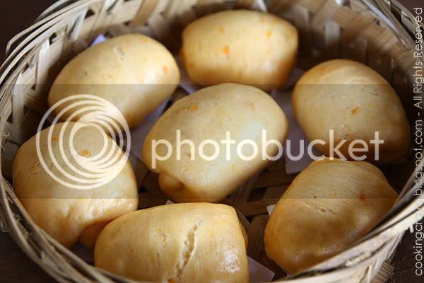 Sweet Potato Steamed Buns 4