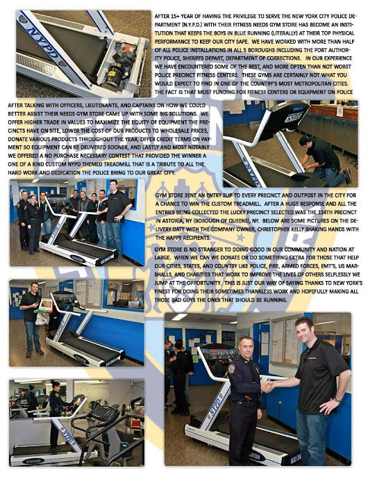 NYPD Treadmill GymStore.com Homepage International Orders & Global ...