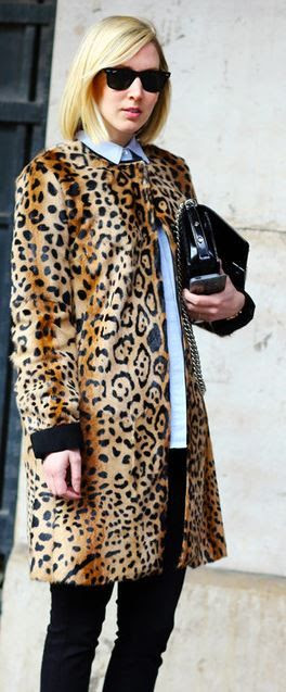 How to Wear Leopard Print at Work 101 http://www.levo.com/articles/fashion/how-to-wear-leopard-print-at-work | Leopard Print Coat
