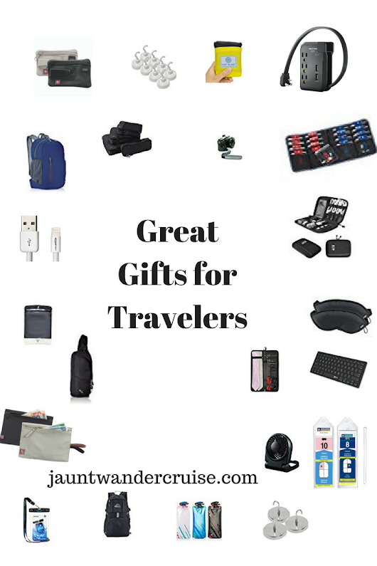 Gifts for Travelers - jaunt wander cruise.com