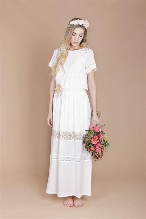 Eco Luxe Boho Wedding Dresses by Minna!