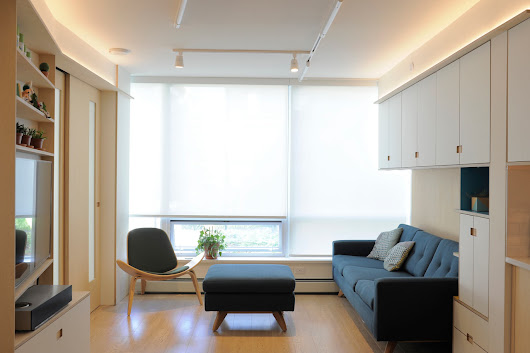 A 600 Square Foot Apartment That Maximizes Every Inch - Design Milk